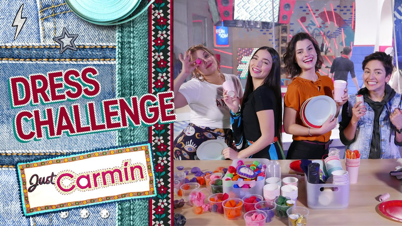 Just Carmín |  Dress Challenge