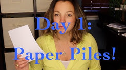 5 for 5 | Day 1: Paper Piles No More!