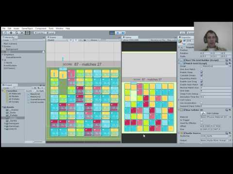 Creating a Match 3 Game in Unity - YouTube