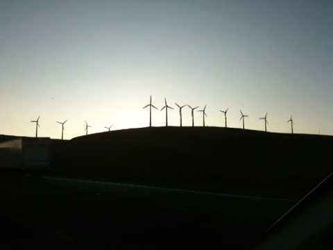 Wind power in Central California