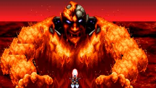 Axelay (SNES) All Bosses (No Damage)