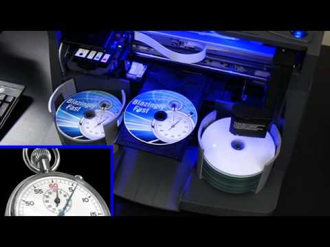 DP-4100 Series: Print A Disc In Just Six Seconds!