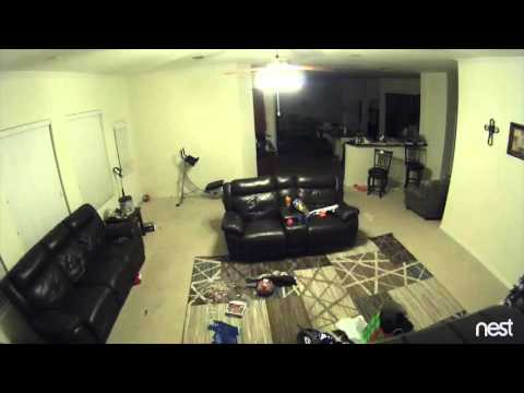 Nest Cam | Tornado hits Texas home.