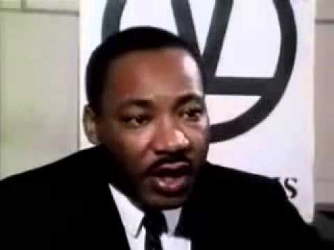 Rare Video of Martin Luther King, Jr  on Civil Rights and Peace
