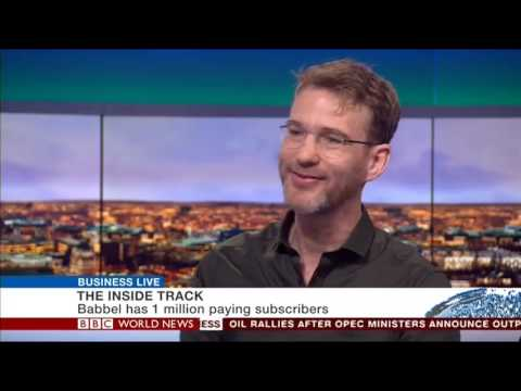 Online language learning: Babbel CEO Markus Witte on BBC World News