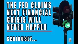 The Fed Desperate to HIDE SOMETHING! They Just Claimed a Crash Will NEVER Happen!