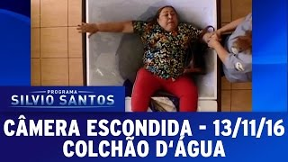 Câmera Escondida (13/11/16) - Colchão d
