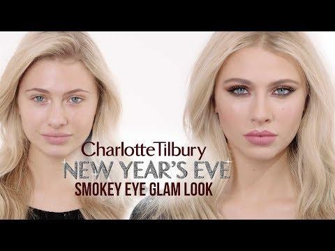 New Year's Eve Glam Smokey Eye Makeup Tutorial   Charlotte Tilbury