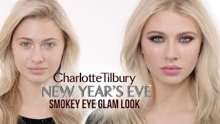 New Years Eve Glam Smokey Eye Makeup Tutorial | Charlotte Tilbury