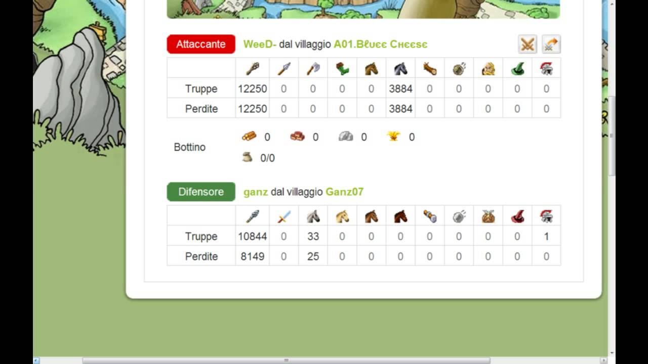 TRAVIAN SERVER 5X WEED-
