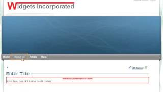 How To Build A Website With DotNetNuke Video1