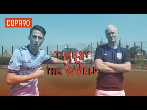 Ultimate Striker Challenge vs Theo Baker! | Timbsy vs The World