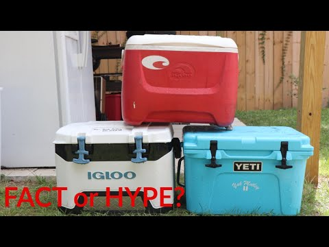 Truth about Coolers- YETI 20 VS Igloo BMX 25 VS Old RED