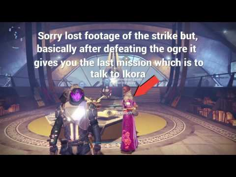 Destiny - Exotic Weapon Quest: Song from the void ( Nova Mortis)