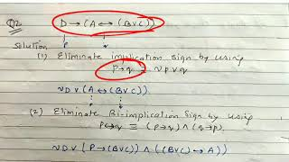 Numericals on CNF - lecture 61…