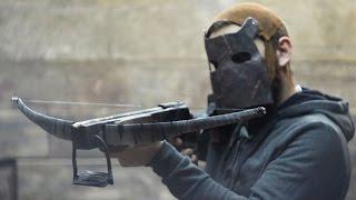 Как сделать АРБАЛЕТ из игры RUST How to make crossbow from Rust(В этом видео буду собирать арбалет из игры Rust experimental. Конструкция арбалета полностью скопирована с игровой..., 2016-08-19T16:50:08.000Z)