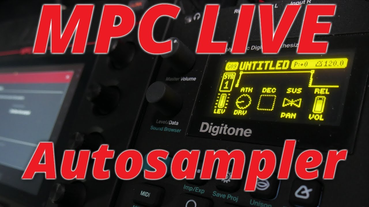 MPC LIVE 2 3 Autosampler for External Synths (Standalone)