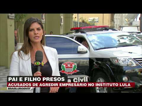 Acusados De Agredir Homem No Instituto Lula São Presos