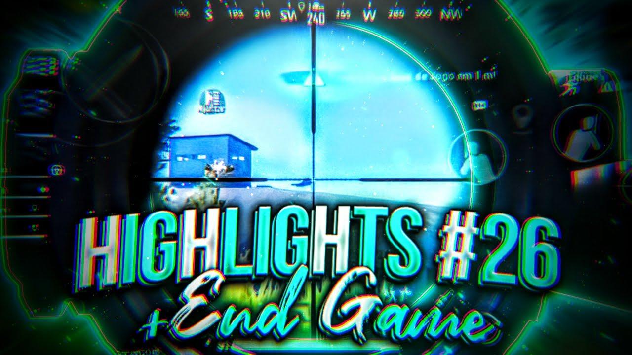 PUBG MOBILE -  HIGHLIGHTS #26 + END GAME | p3dr0gg | b4stardos E-sports | IPHONE XR