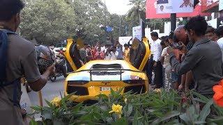 Crazy Lamborghini Reactions INDIA!