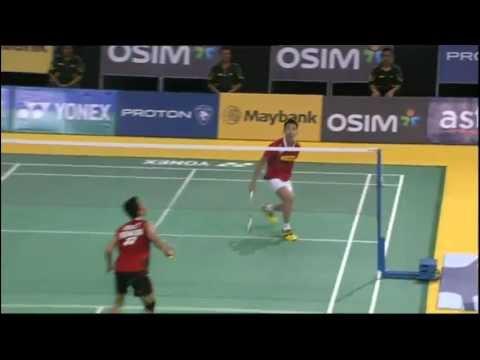 QF - MS - Lee Chong Wei vs Taufik Hidayat - 2012 Maybank Malaysia Open