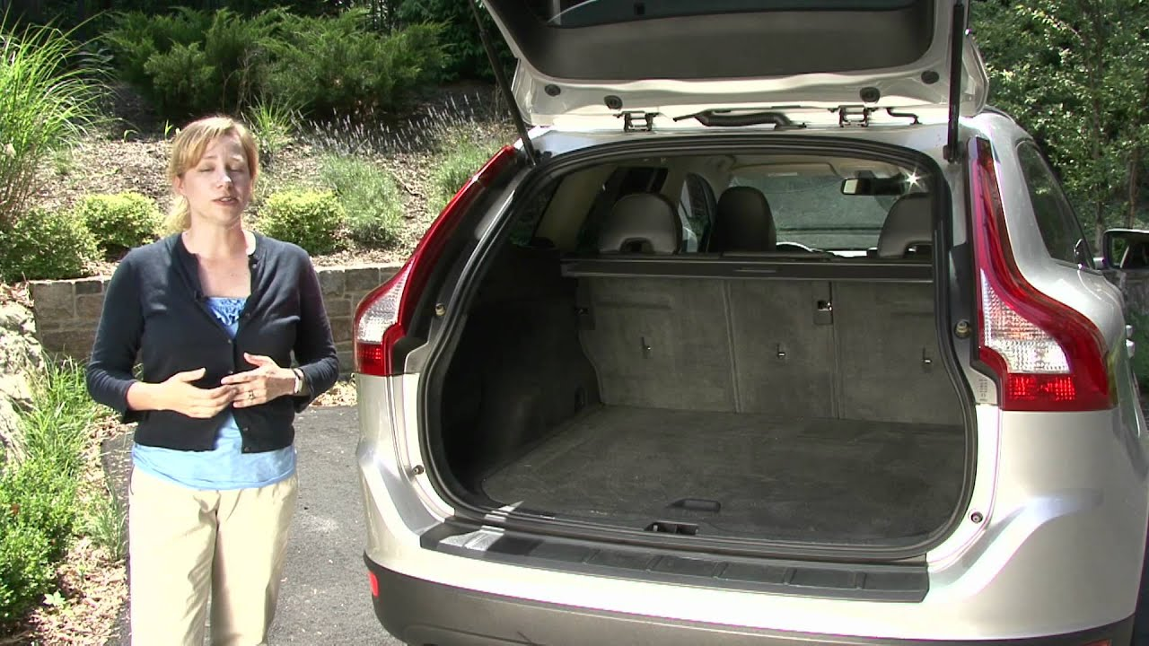 2010 Volvo XC60  Cargo Capabilities  YouTube