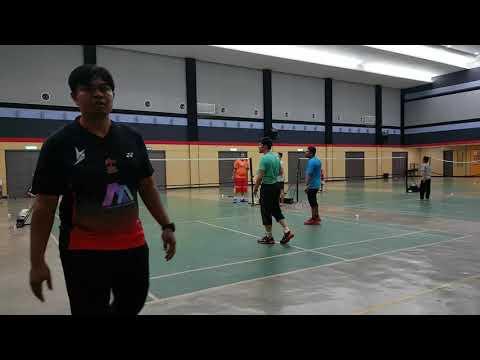 Badminton Friendly Match LENO & RINO VS FBT KERAMAT (second Game)