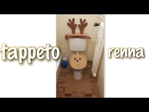 tappeto per bagno renna / natale