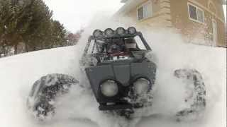 Twin Hammers Snow Action!!!!!!!!
