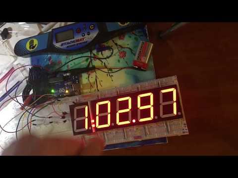 Самодельный дисплей для спидкубинга на Arduino. Начало