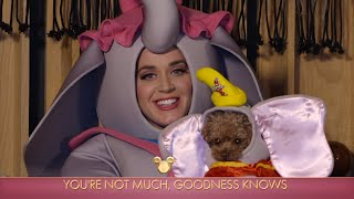 Katy Perry Performs 'Baby Mine' with Her Poodle, Nugget - The Disney Family Singalong: Volume II