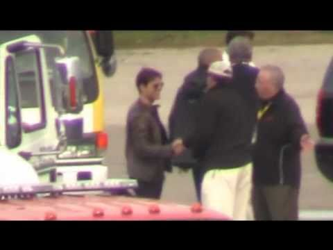 Tom Cruise and Connor at Daytona 500.wmv
