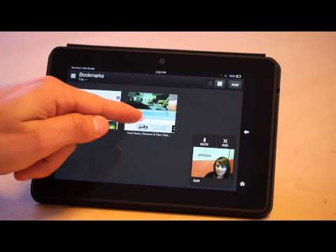Amazon Kindle Fire Hdx Mayday Help Service Demo