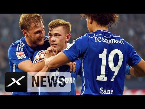 Leroy Sane und Benedikt Höwedes: Sorgenfalten bei Schalke 04 | Bundesliga | FC Schalke 04