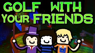Golf im dunklen Wald! | GOLF WITH YOUR FRIENDS