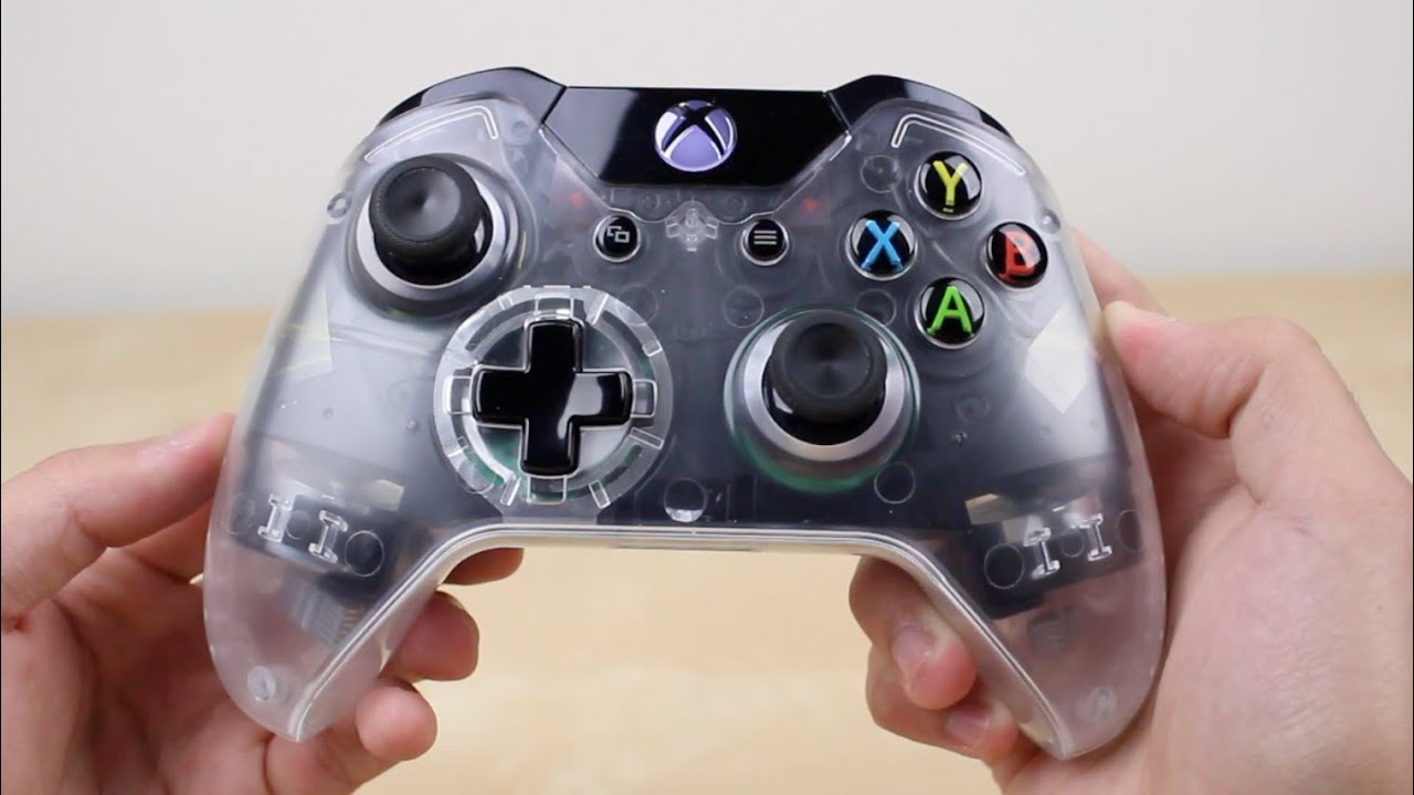 Xbox One Clear Custom Controller How To