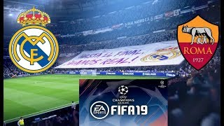 FIFA 19 Demo - Liga mistrů - Real Madrid vs. AS Roma + Facecam !