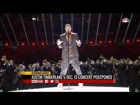 Justin Timberlake 2018 December tour dates cancled Mp3