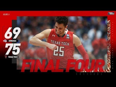 Gonzaga vs  Texas Tech: Elite 8 NCAA tournament extended highlights