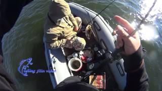 Неожиданно приятное начало репортажа на рыбалке!