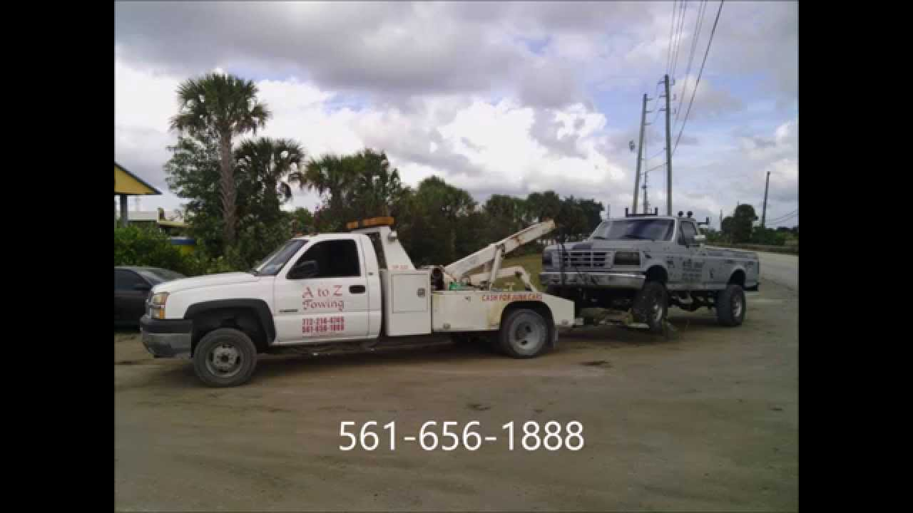 How to junk a car. A to Z Towing West Palm Beach 561-656-1888 ...