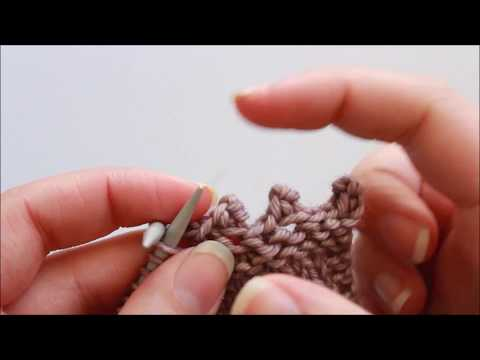 Technique Tutorial: Picot Bind Off Method