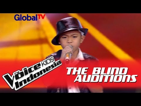 Deven 'Beat It' I The Blind Auditions I The Voice Kids Indonesia GlobalTV 2016