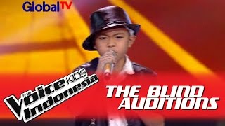 "Deven ""Beat It"" I The Blind Auditions I The Voice Kids Indonesia GlobalTV 2016 MP3"