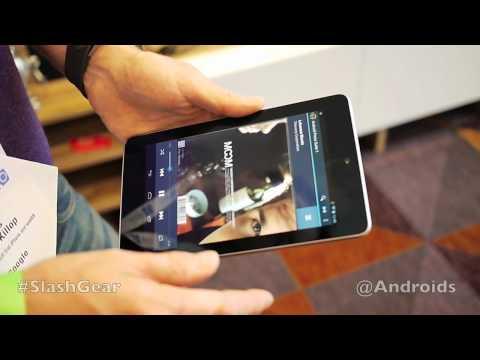 Nexus Q hands-on with Nexus 7