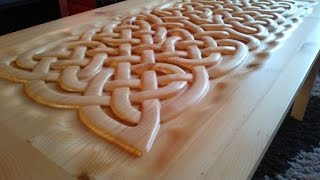 Celtic Weave Coffee Table