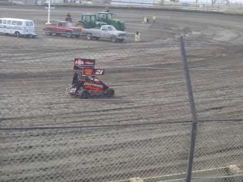 Lemoore Raceway KOFC Rd8 6/9/18 Jr Sprint Hot Laps