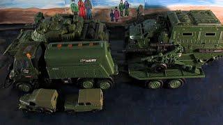 Мультфильм про машинки. Военная техника