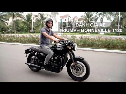 Đánh giá xe Triumph Bonneville T120 - Vẻ đẹp vĩnh cửu giá hơn nửa tỷ |XEHAY.VN|