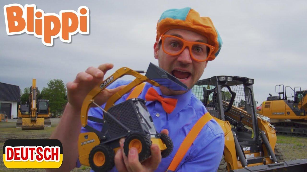 Blippi Deutsch - Bagger und Baufahrzeuge | Abenteuer und Videos für Kinder